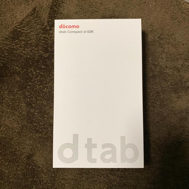NTTdocomo(エヌティティドコモ)の【格安simでの利用可】d-02K ゴールド スマホ/家電/カメラのPC/タブレット(タブレット)の商品写真