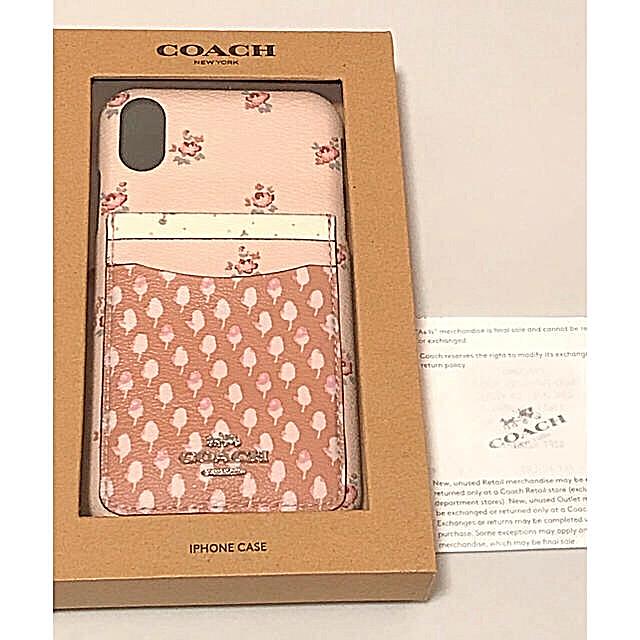 iphone8プラス ケース 手帳型 人気 | COACH - 新品 正規品  COACH コーチ iPhone ケース ピンク 花 フラワーの通販 by shop|コーチならラクマ
