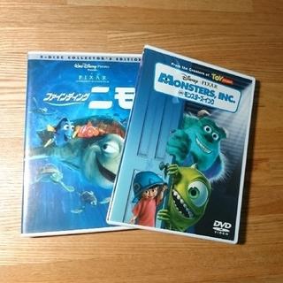 ディズニー(Disney)のファインディングニモ、 モンスターズインク DVD 2タイトル(キッズ/ファミリー)
