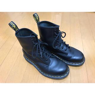 ドクターマーチン(Dr.Martens)のDr.Martensドクターマーチン8ホールブーツ BLACKレディース24cm(ブーツ)