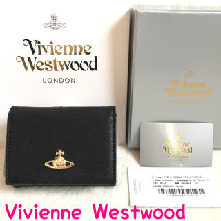 ヴィヴィアンウエストウッド(Vivienne Westwood)の訳あり 激安 ヴィヴィアンウエストウッド 財布 正規品 新品 三つ折り がま口(財布)