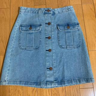 ジーユー(GU)の台形スカート(ミニスカート)