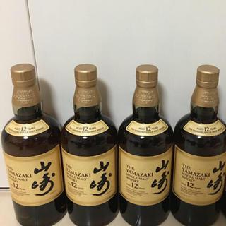 サントリー - サントリーシングルモルトウィスキー山崎12年 箱なし 4本