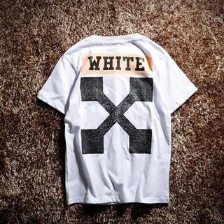 OFF-WHITE  Tシャツ【Mサイズ】    ホワイト5423