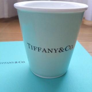 Tiffany & Co. - TIFFANY紙コップ風マグカップ