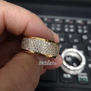 CZ パヴェ ブリンブリン リング ゴールド (リング(指輪))