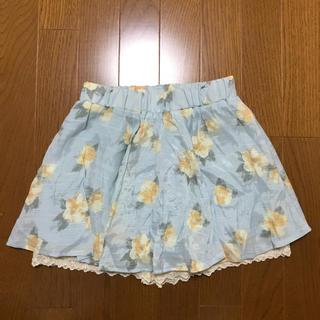 シマムラ(しまむら)の花柄スカート140cm(スカート)