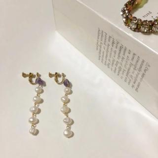 ルカ(LUCA)の新品同様美品♡ ルカ 上品な 揺れるイヤリング(イヤリング)