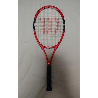 ウィルソン(wilson)のテニスラケット(硬式)  ケース付き(バグース・ライフ様専用)(ラケット)