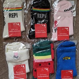 レピピアルマリオ(repipi armario)のみかん様 専用です レピピアルマリオ靴下(靴下/タイツ)