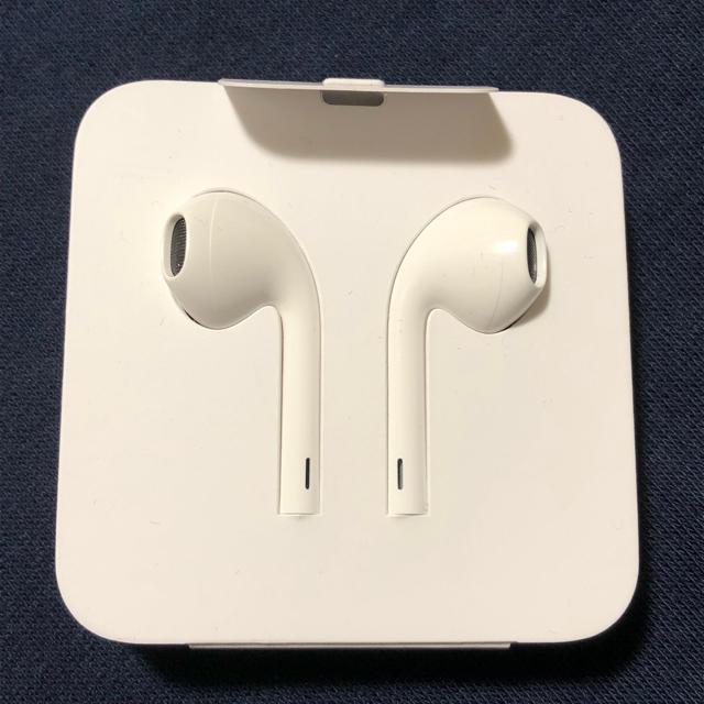 Apple(アップル)の【純正】iPhone8,iPhoneX イヤホン スマホ/家電/カメラのオーディオ機器(ヘッドフォン/イヤフォン)の商品写真