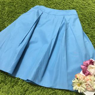 M'S GRACY - 美品エムズグレイシー❤︎爽やかレディボリューミースカート