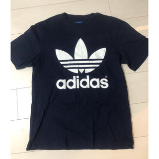 adidas - adidas originals Tシャツ ネイビー  L