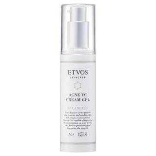 ETVOS - 残量多★ETVOS エトヴォス 薬用 アクネVCクリームジェル フェイスクリーム