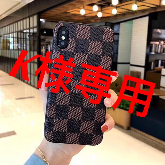 iPhone XRケース  /ブラウンの通販 by sasa's shop|ラクマ