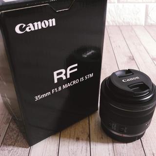 Canon - キヤノン RFマウントレンズ RF35mm F1.8 MACRO IS STM
