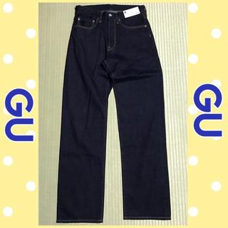 GU - ✩新品未使用✩ GU ジーユー レギュラーストレートジーンズ