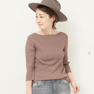DEUXIEME CLASSE - 新品タグ付◇Deuxieme Classe★EVERYDAY KNIT ブラウン
