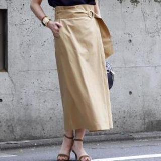 ティアラ(tiara)のtiara ベルト付きタイトスカートM(ロングスカート)