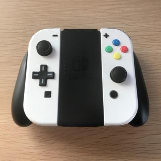 Nintendo Switch - 動作OK NintendoSwitch ジョイコン + ジョイコングリップ