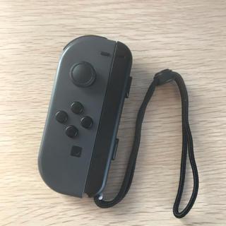 Nintendo Switch - 動作OK NintendoSwitch ジョイコン グレー + ストラップ