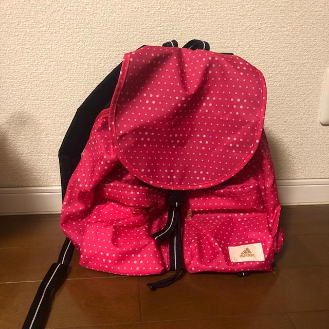 adidas(アディダス)のadidas ピンク リュック レディースのバッグ(リュック/バックパック)の商品写真