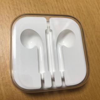 アップル(Apple)のiPhone イヤホン 純正ケース 空(その他)