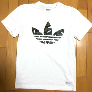 adidas -  迷彩ポイントTシャツ【adidas Originals】
