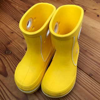 クロックス(crocs)の【チェリー1616様専用♪】長靴 クロックス レインブーツ 15.5(長靴/レインシューズ)