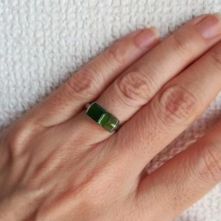 グリーンのリング(リング(指輪))