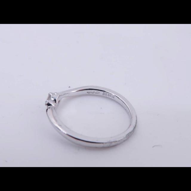 canal4℃(カナルヨンドシー)のcanal4℃ シルバーリング9号 レディースのアクセサリー(リング(指輪))の商品写真
