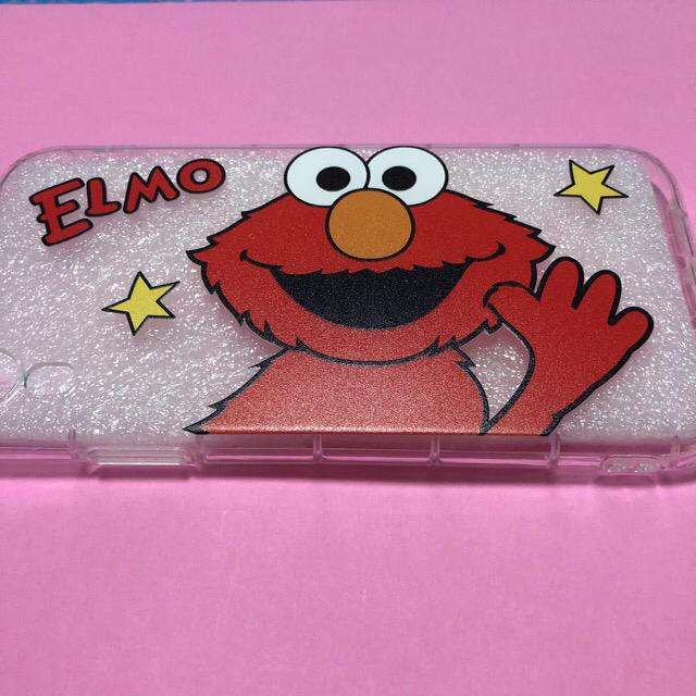 SESAME STREET(セサミストリート)のエルモiPhoneケース♡セサミストリート スマホ/家電/カメラのスマホアクセサリー(iPhoneケース)の商品写真