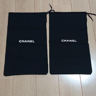 0c4acc047906 CHANEL - 最終お値下げ☆CHANEL シャネル 巾着袋 2枚セットの通販|ラクマ
