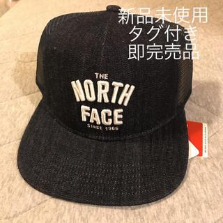 ザノースフェイス(THE NORTH FACE)の【新品未使用】即完売品 MESSAGE MESH CAP インディゴ(キャップ)
