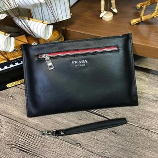 プラダ(PRADA)のプラダ メンズファッション ファスナー クラッチバッグ (セカンドバッグ/クラッチバッグ)