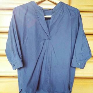 GU - 【美品】GU コットン100パーセント シャツ Sサイズ