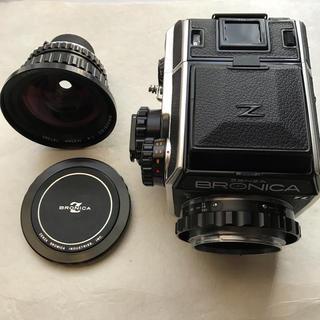 ニコン(Nikon)のゼンザブロニカ ECーTL ニコン ブロニカニッコール DC1:4 F40mm(フィルムカメラ)