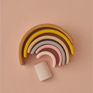 BorneLund - RADUGA GREZ 木製おもちゃ  レインボー