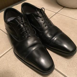 REGAL - リーガル 革靴 シングルチップ 黒 24.5cm