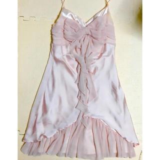 9f2be9590a1af ギャルフィット(GAL FIT)のドレス♡ピンク リボン♡結婚式 パーティ♡