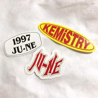 iKON - 【 ジュネ 】iKON KEMiSTRY ステッカー YG公式グッズ