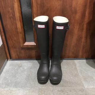 ハンター(HUNTER)のwelina様専用 Hunter レインブーツ ダークブラウン(レインブーツ/長靴)