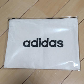 adidas - adidas クラッチバッグ ポーチ 非売品 ノベルティー