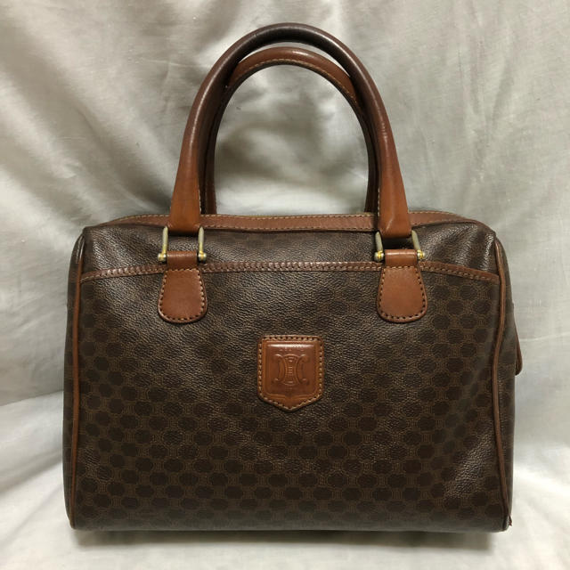 celine(セリーヌ)のCELINEオールドセリーヌ マカダム柄ボストンバッグ レディースのバッグ(ボストンバッグ)の商品写真
