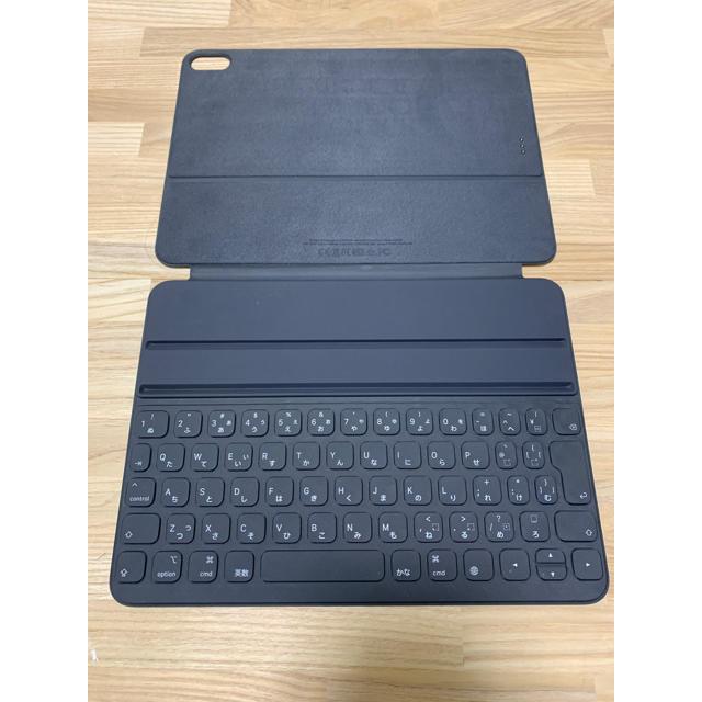 Apple(アップル)のApple Smart Keyboard Folio iPad Pro 11 スマホ/家電/カメラのPC/タブレット(タブレット)の商品写真
