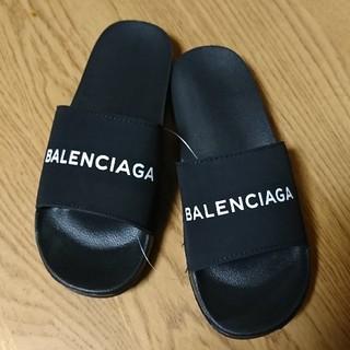 Balenciaga - ロゴ*Bシャワーサンダル