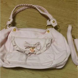 リズリサ(LIZ LISA)のリズリサ ピンクのショルダーバッグ(ショルダーバッグ)