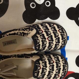 DOUBLE.B - 新品 日本製 総柄 ダブルb 靴 スニーカー レア 19cm