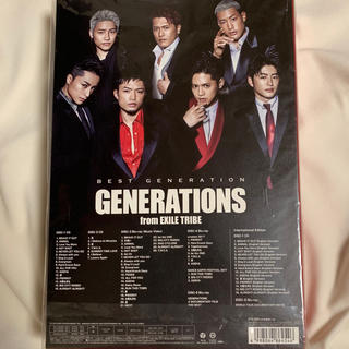 GENERATIONS - BEST GENERATION数量生産限定盤豪華BOX仕様GENEベストアルバム