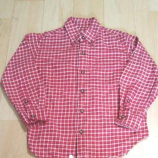 ユニクロ(UNIQLO)のユニクロ チェックシャツ 120(ブラウス)